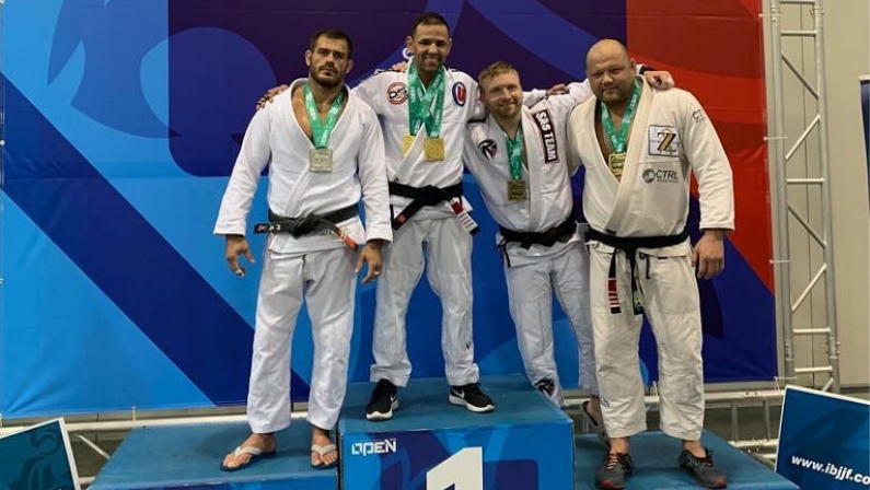 Diego wins double gold at Atlanta Spring Open 2019